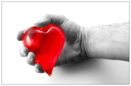 corazon en la mano